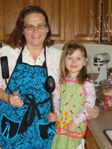 Chloe & Oma Cooking