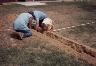 dave digging