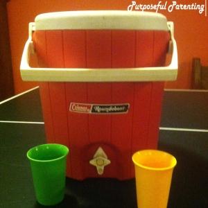 cooler & Cups