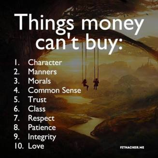 money can't buy