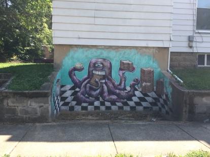 Monster Eating Sandwiches